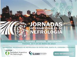 JORNADAS INTERNACIONALES DE NEFROLOGIA …
