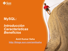MySQL: Introduction Features Benefits
