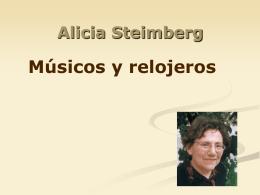 Alicia Steimberg