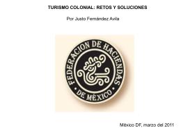 Diapositiva 1 - Foro Nacional de Turismo