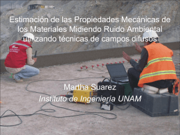 Diapositiva 1 - Instituto de Ingenieria UNAM