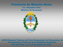 Filminas presentacion Mar del Plata