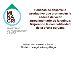 POLITICA AGRARIA 2012 -2016