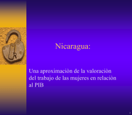 SUBVALORACION DE LAS CUENTAS NACIONALES