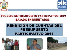 RENDICION DE CUENTAS A.F. 2008