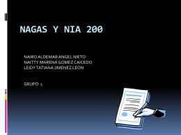 Diapositiva 1 - NIAs-ISAs