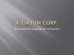 A. Datum Corp.