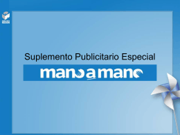 Suplemento Publicitario Especial