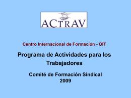 Workers' Activities Programme
