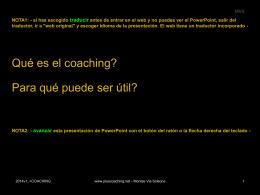 Diapositiva 1 - plusCoaching: coaching individual