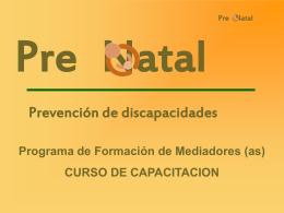 PreNatal Plan Curricular Completo julio 06
