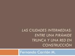 El desarrollo territorial: una mirada desde las finAnzas