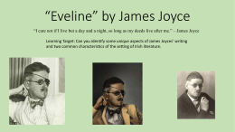 "Eveline"" by James Joyce"
