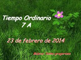 SAlmo 102. Tiempo Ordinario A