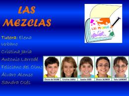 LAS MEZCLAS - sein08 / FrontPage