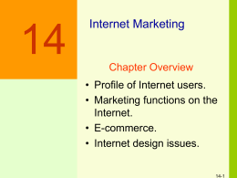 Figure 16-1 Functions of the Internet