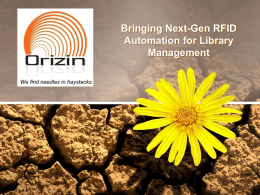 Orizin Technology-A Summary
