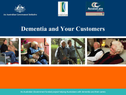 Dementia Training - City of Kingston