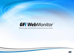 GFI WebMonitor
