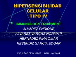 HIPERSENSIBILIDAD TIPO IV - [DePa] Departamento de