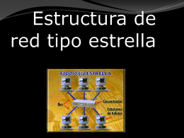 ESTRUCTURA DE LA RED TIPO BUS