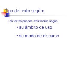 Tipo de texto