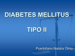 DIABETES MELLITUS TIPO II