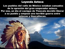 Leyenda Azteca