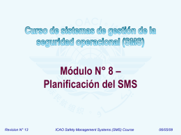 ICAO SMS Module 08