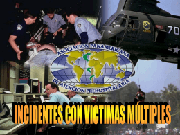 Incidentes con Victimas Multiples