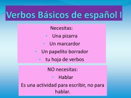 20 verbos