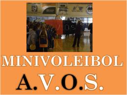 MINIVOLEIBOL A.V.O.S.