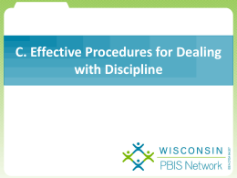 Getting Started - Wisconsin PBIS Network