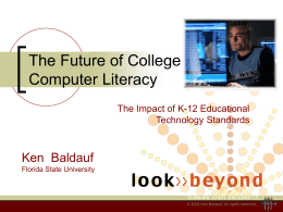 Computer Literacy: A New Approach