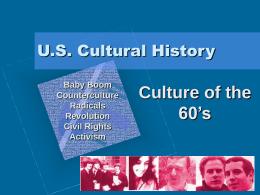 U.S. Cultural History