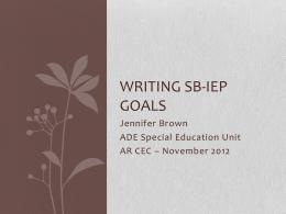 Writing SB