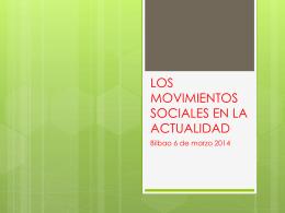 EL MOVIMIENTO DE LOS INDIGNADOS