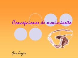 Concepciones de movimiento