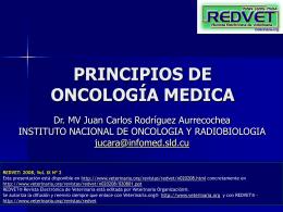 PRINCIPIOS DE ONCOLOGIA MEDICA