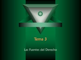 Tema 3 - ::WEB DEL PROFESOR::