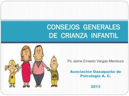 CONSEJOS GENERALES DE CRIANZA INFANTIL