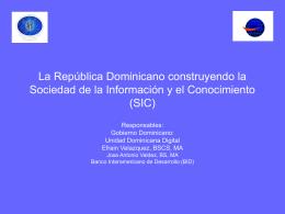 Proyecto: Sociedad de la Informacion y el Conocimiento