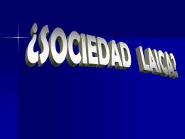 Sociedad laica