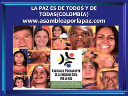 ASAMBLEA PERMANENTE DE LA SOCIEDAD CIVIL POR LA …