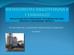 IECAS Y EMBARAZO - Sociedad Ginecologica