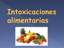 Intoxicaciones alimentarias - fraybio | Departamento de