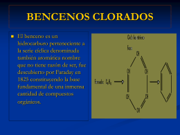 BENCENOS CLORADOS