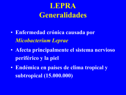 LEPRA Generalidades