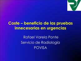 COSTE-BENEFICIO DE LAS PRUEBAS INNECESARIAS EN …