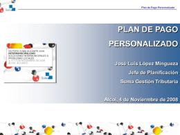 Plan de Pago Personalizado